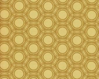 Free Spirit Fabrics Joel Dewberry Heirloom Opal in Gold -  Half Yard