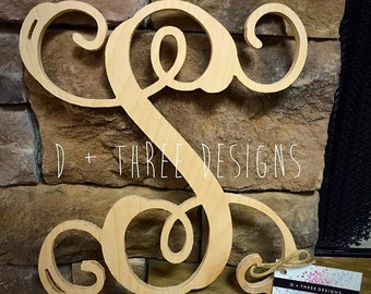 16 Inch Single Wooden Letter