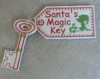 Santa key, magic key, Santa's magic key, Christmas key, Christmas, key, Christmas decoration