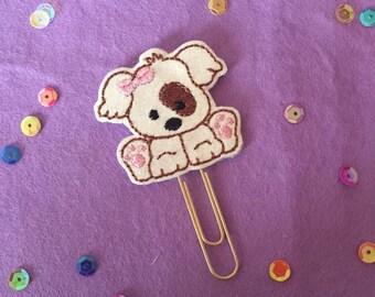 Puppy Dog Planner Paperclip | Planner Supplies | Planner Accessories | MAMBI Happy Planner | Filofax | Kikki K