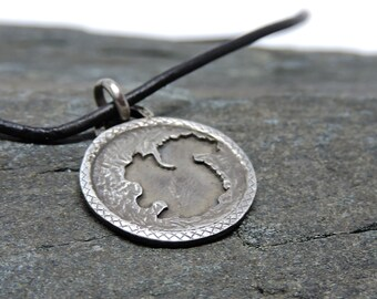 Squirrel Pendant, Sterling Silver Necklace, Squirrel Talisman, Made in NH, Totem, Ambition, Fun Loving, Nature Jewelry, Squirrel Medicine