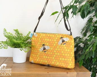 Bee Handbag, Cross Body Bag, Shoulder Bag, Bee Gift