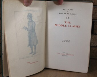 The Middle Classes by Honore de Balzac - 575/1000 HC Limited Edition