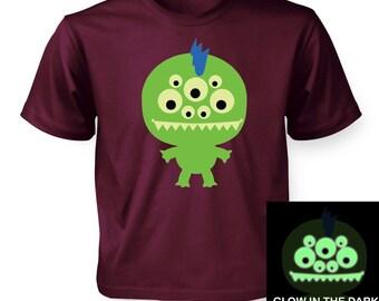 Monster (Glow In The Dark) kids t-shirt