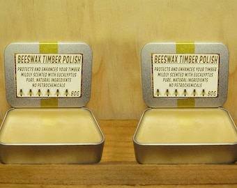 BEESWAX TIMBER POLISH - 160g - Pure & Natural - No Petrochemicals!