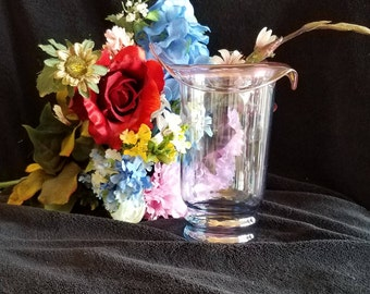 Beautiful Iridescent Glass Vase Will Compliment Any Bouquet
