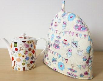 Handmade tea cosy, afternoon tea