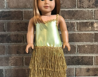 Formal 20's Dress for 18 inch dolls (fits American Girl dolls)