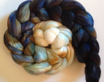 Merino Wool Roving spinning or felting  3.5 ozs  Ready to ship Salt Pig