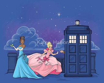The Princess and the Doctor Small Print (Item 03-332-AA)