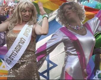 Trans Jerusalem Postcard