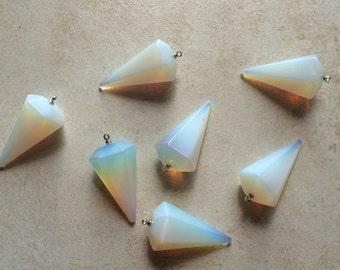 Grande opale pendule Gemstone pendentif/Collier/Tour de cou - 40 % de réduction