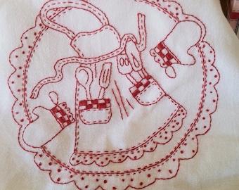 Always Tie Your Apron Strings Pattern