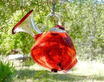 Hummingbird Feeder - Garden Art