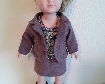 18 Inch Girl Doll Outfit #183