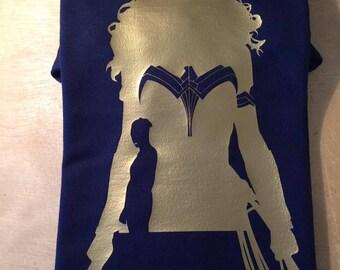 Wonder Woman Silhouette Tshirt