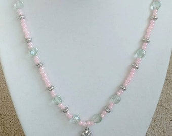 SALE Gusts and Gails Of Pales Necklace