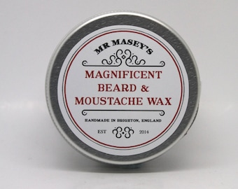 Mr. Masey's Magnificent Moustahce and Beard Wax