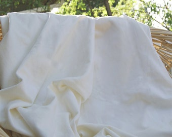 BAMBOO Stretch French Terry Fabric - by the yard