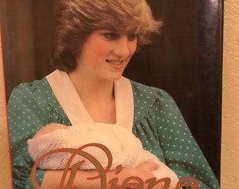 Diana A Celebration Vintage Coffee Table Book