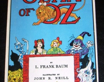vintage book ... OZMA of OZ by L. Frank BAUM  ...