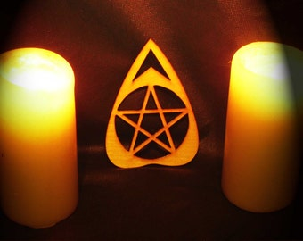 Lord Mocks Pentacle Planchette (Spirit Pointer)