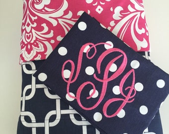Twin Bedding Set Duvet Cover snd monogrammed sham