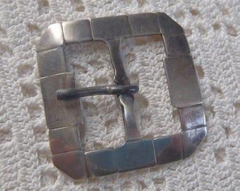 Vintage Belt Buckle Cape Cod Baer Sterling Silver