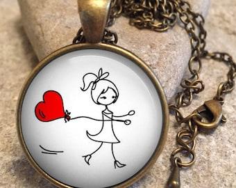 Valentine Jewelry Necklace, valentines jewelry, heart jewelry, valentine gift,gift for her,valentines gift,valentines day,gift for wife va13