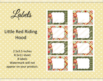 Editable Labels 2.5 x 3.5 Cards JPG File Printable Labels Name Tags Digital Collage Sheet