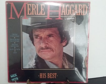 NEW! Factory Sealed! - Merle Haggard - His Best - Circa 1985