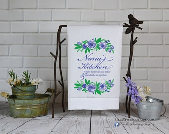 Mother's Day Hemstitched Towel: Nana's Kitchen
