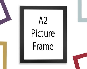 "A2 Picture Frame - Multiple Colors - (16.5"" x 23.4"")"