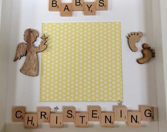 Baby's Christening Celebration Gift Photo Frame