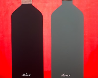 Bottle shaped memo Board.
