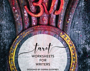 Tarot Worksheets for Writers - Tarot spreads, digital worksheets, writer spreads