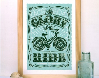 Cycling Print | Bike print | Bicycle Print | Bike Ride Print | Cyclists Print