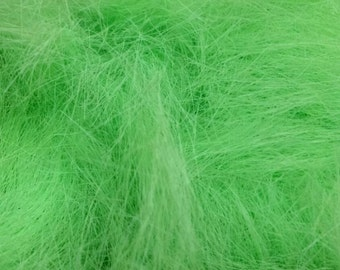 Neon matte green Angelina sparkle 1/4oz