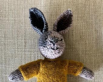 Knitted Rabbit Boy
