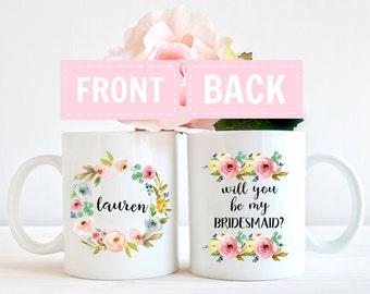 Bridesmaid proposal, be my bridesmaid, Bridesmaid Mug, maid of honor gift, Bridesmaid Gift, bridesmaid gifts, maid of honor gifts