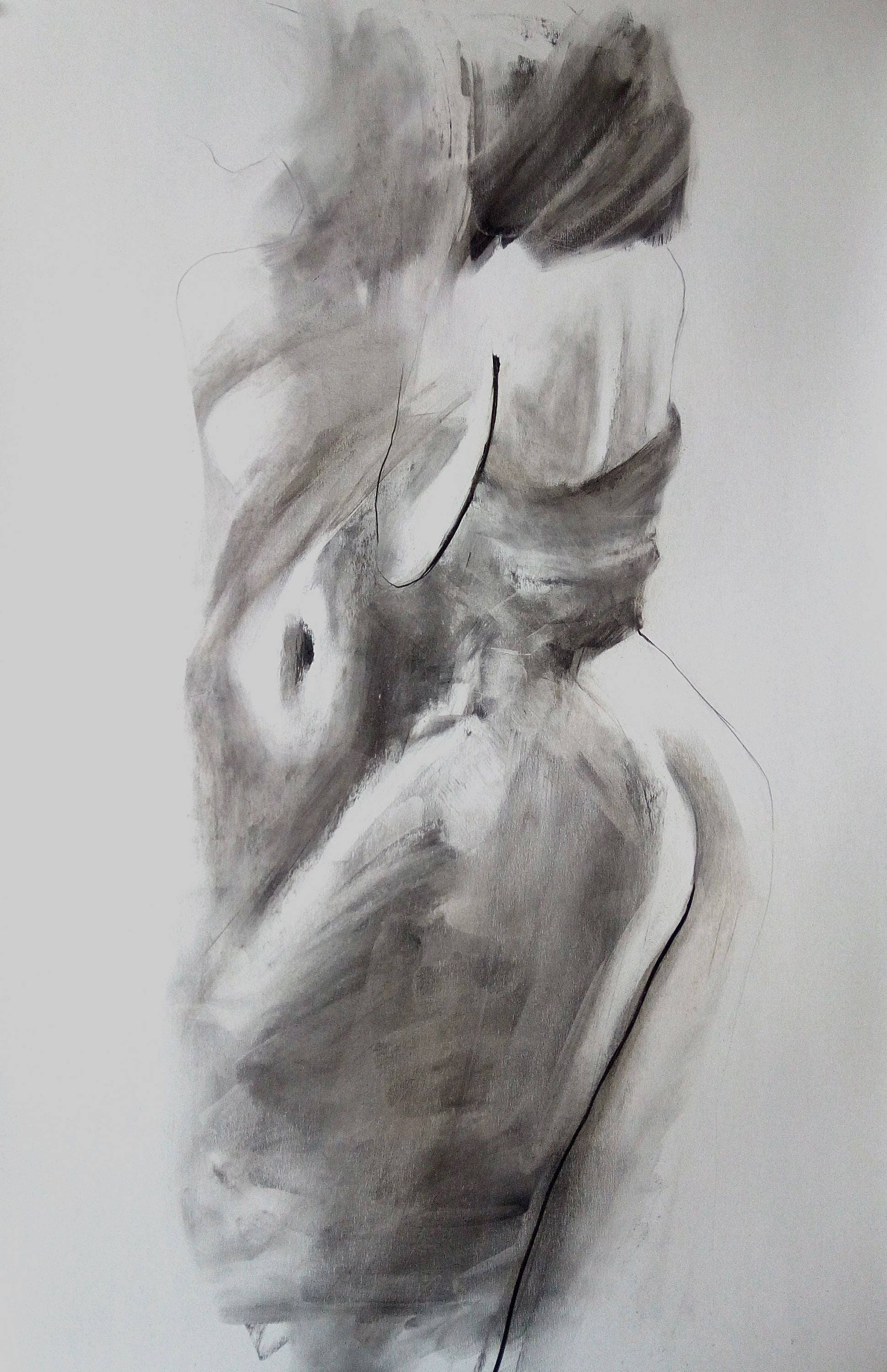 Nude Female Drawing 79