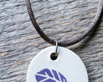 Necklace pattern sheet ceramic
