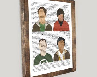 Big Bang Theory Quote Collage #1 *Digital Image*