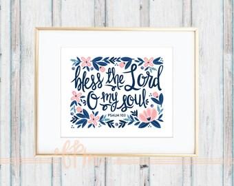 Psalm 103 Print