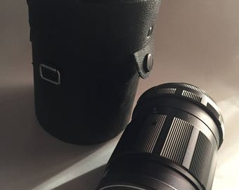 Rikenon 135mm S mount f2.8 lens w/ case.