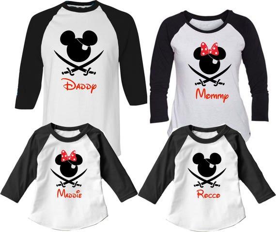 Disney cruise pirate night shirts, disney cruise shirts, pirate night shirts, family pirate shirts, mickey pirate, minnie pirate,pirate nigh