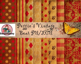 Peggie's Vintage Bear Printable Journal- link