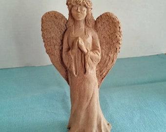 Vintage Clay Angel