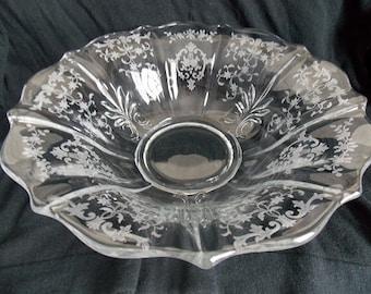 Fostoria Navarre Baroque Console Bowl