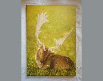 Petworth Stag- Reflection